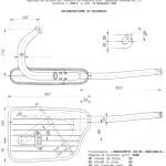 disegno di progettazione MARMITTA j50